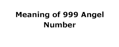 meaning of 999