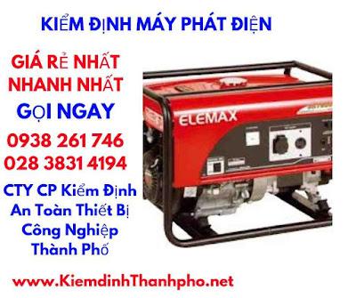 Kiem Dinh May Phat Dien
