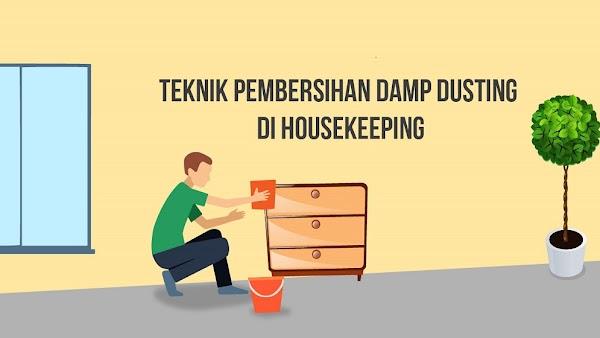 Teknik Pembersihan Damp Dusting dalam Housekeeping