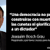 """Joaquim Bosch: """"Una democracia no puede construirse con muertos en las cunetas ni glorificando al dictador"""""""