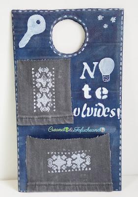 regalo-para-chicos-facil-y economico-con-materiales-reciclados-organizador-con-carton-y-jeans-creando-y-fofucheando