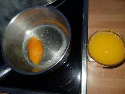 بسبوسة البرتقال والحليب