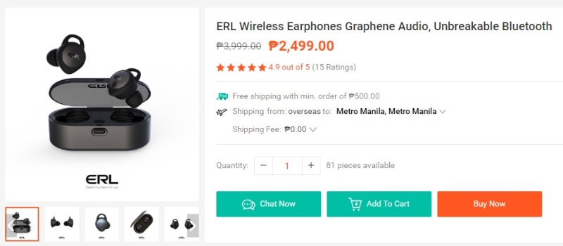 ERL Wireless Earphones