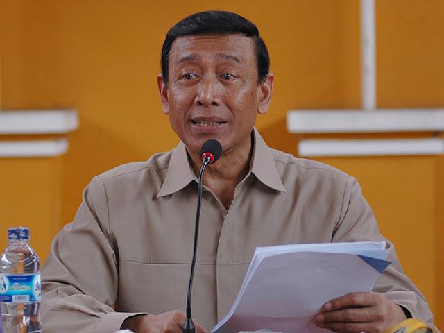 Menteri Koordinator Bidang Politik, Hukum, dan Keamanan, Jenderal TNI (Purnawirawan) Wiranto