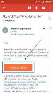 Cara buat akun MI - Xiaomi