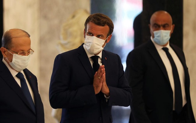 Kenapa Presiden Perancis Emmanuel Macron ke Beirut Langsung Setelah Ledakan