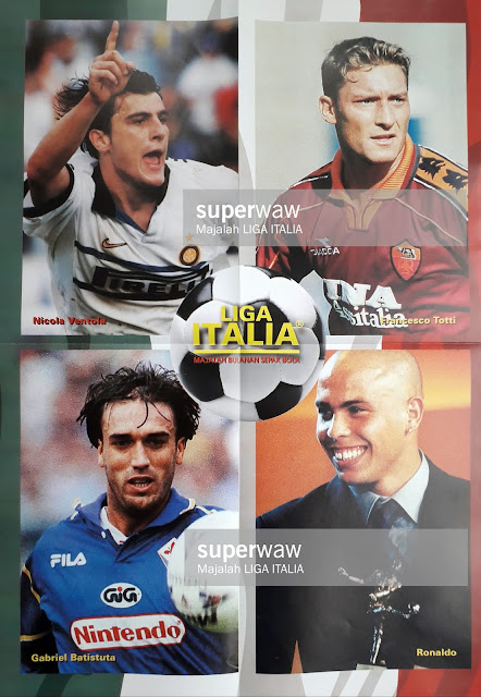 STRIKER TOP LIGA ITALIA SERIE A 1998/99