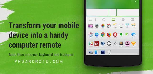 تحميل تطبيق لتحويل هاتف الي ماوس والتحكم بالحواسيب المكتبية Remote Mouse بنسخته المدفوعة