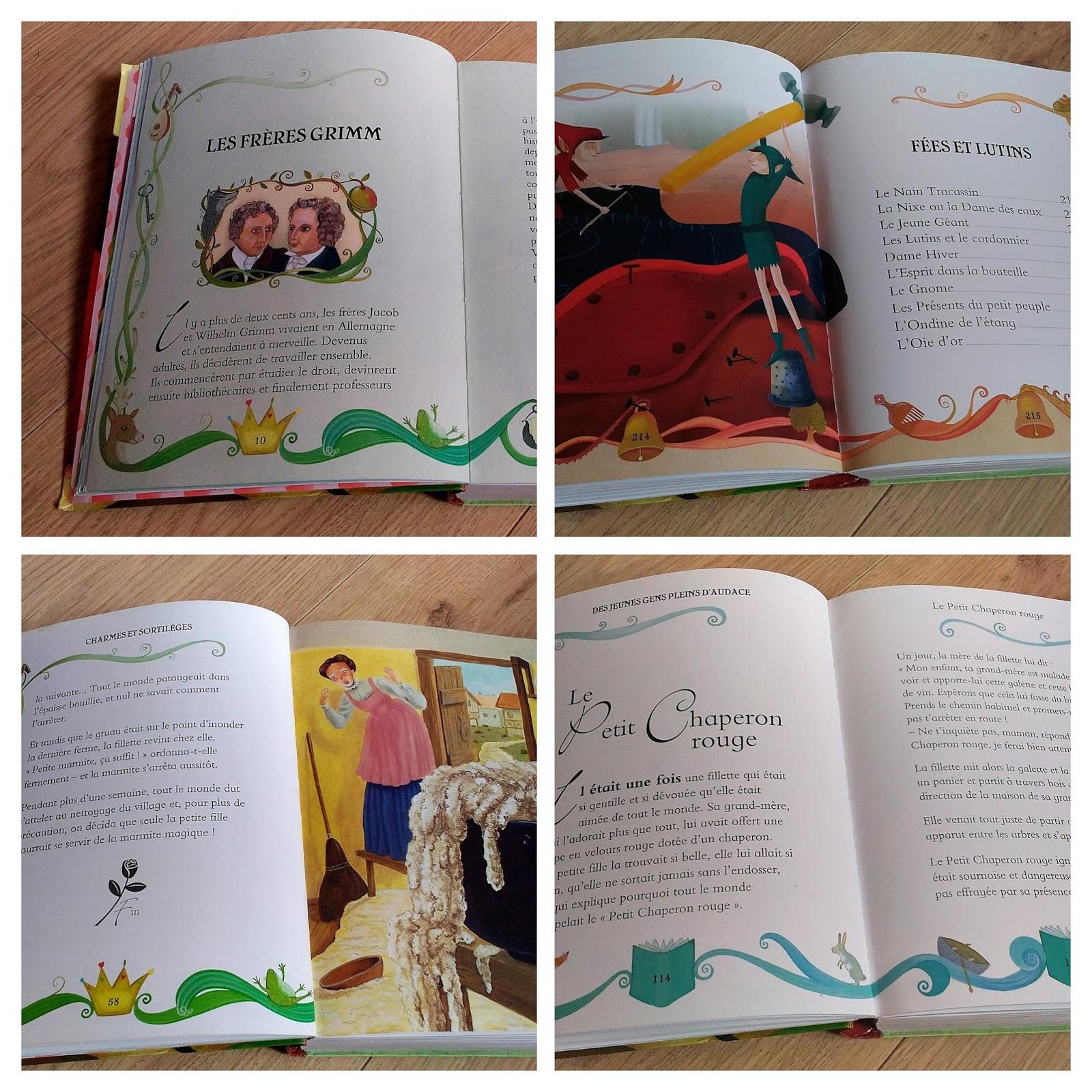 Les contes de Grimm - éditions Picolia