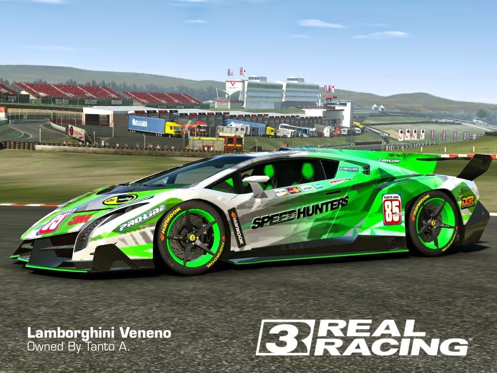 Lamborghini Veneno Livery >> REAL RACING 3 SKIN: 2013_lamborghini_veneno-SPEEDHUNTER LAMBORGHINI VENENO by Tanto Arc