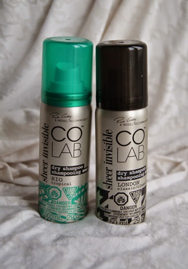 COLAB Sheer + Invisible Dry Shampoo