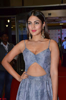 Rhea Chakraborty in a Sleeveless Deep neck Choli Dress Stunning Beauty at 64th Jio Filmfare Awards South ~  Exclusive 029.JPG