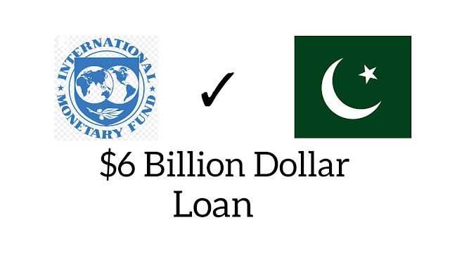 IMF aprroves $6 billion loan | for Pakistan