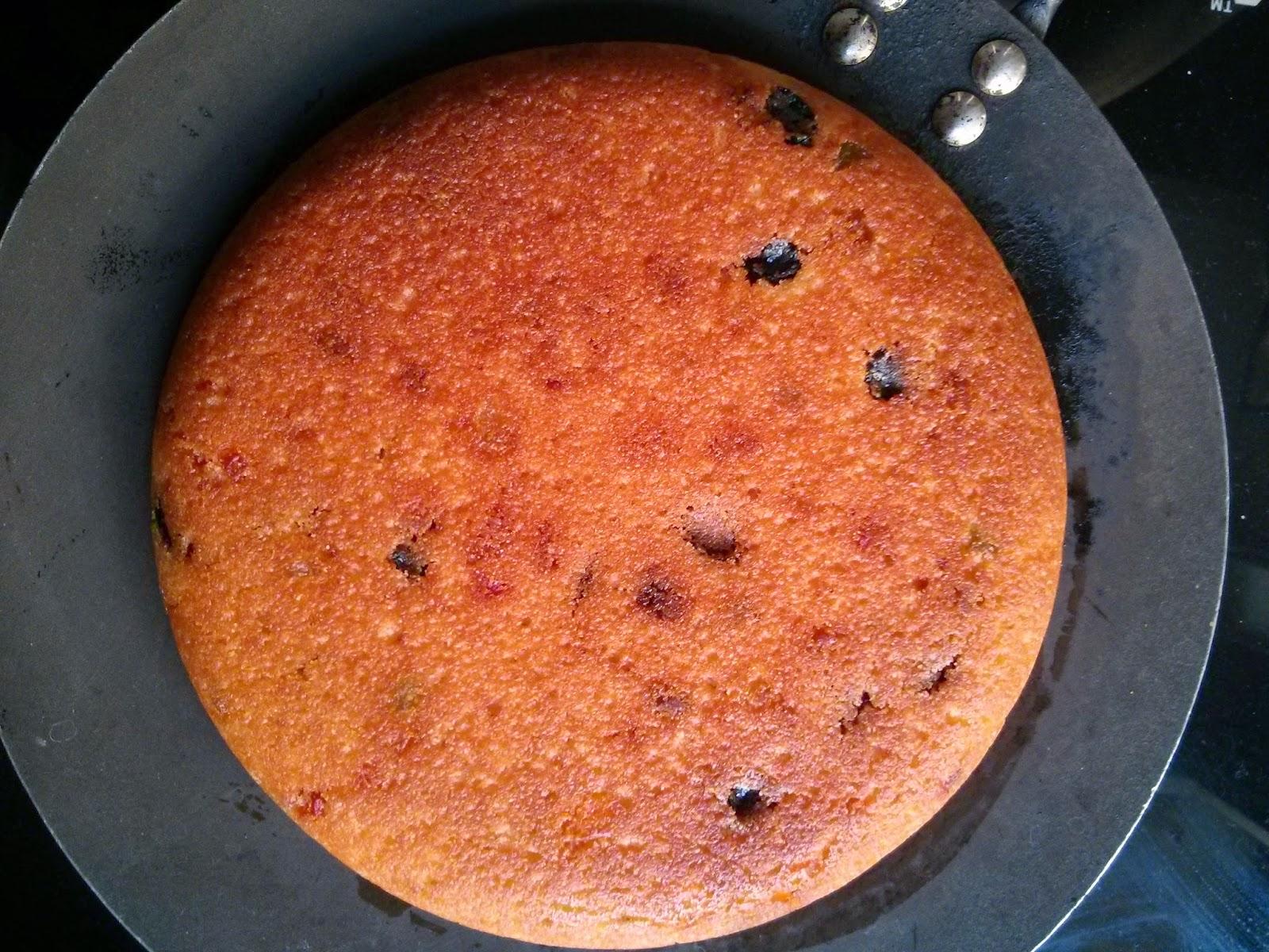 Suji Cake Without Egg