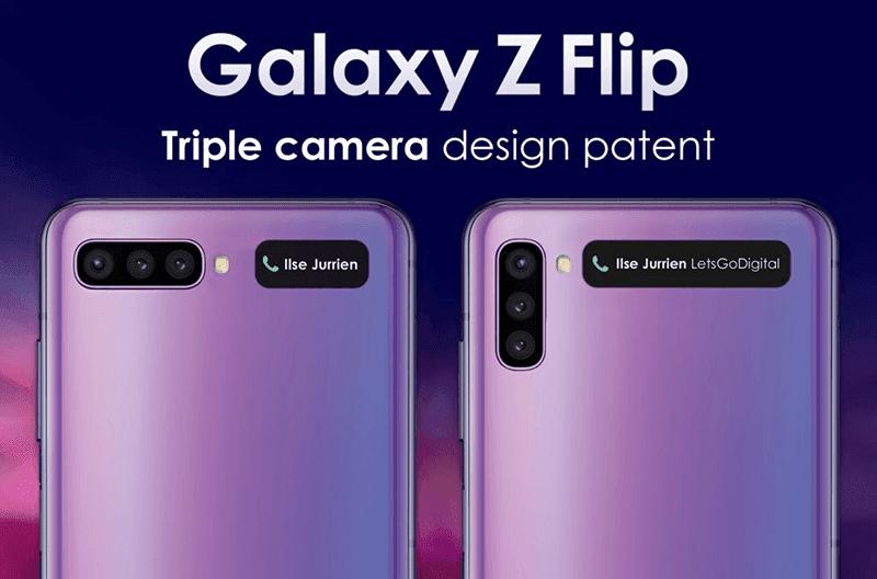 Samsung patents future Galaxy Z Flip designs with triple-camera