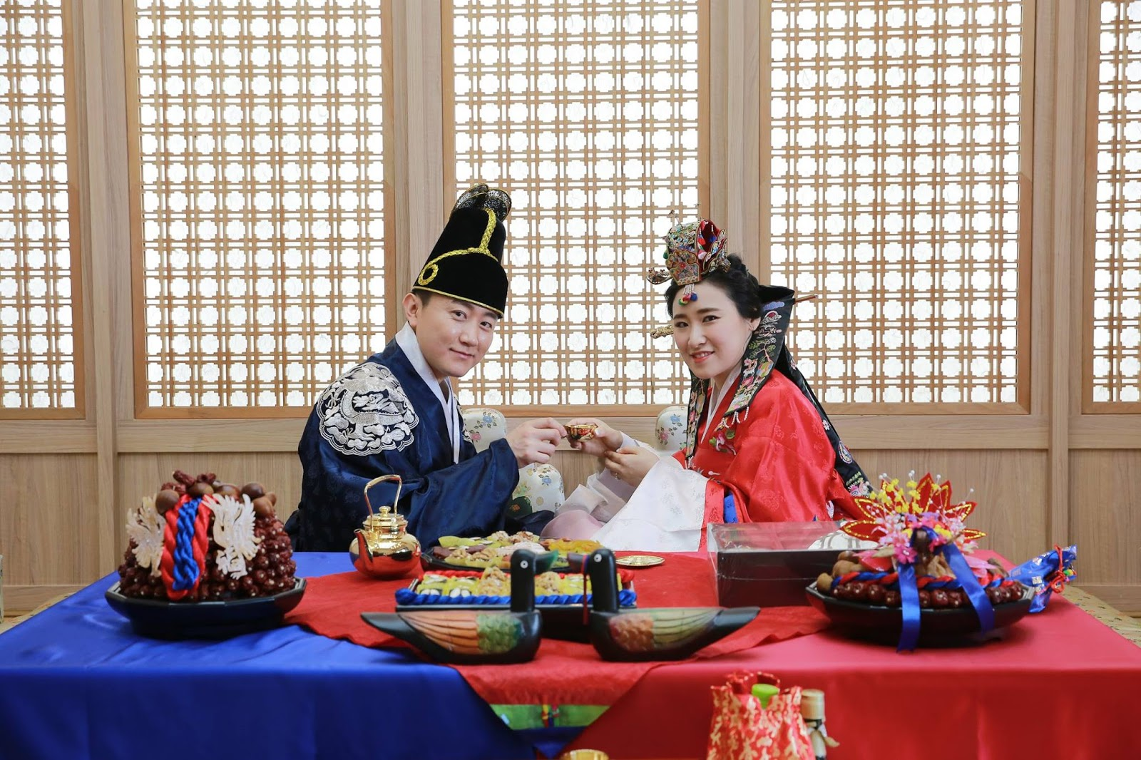 A Traditional Korean Wedding Ceremony Can Be Still Seen In Some Modern Weddings These Days