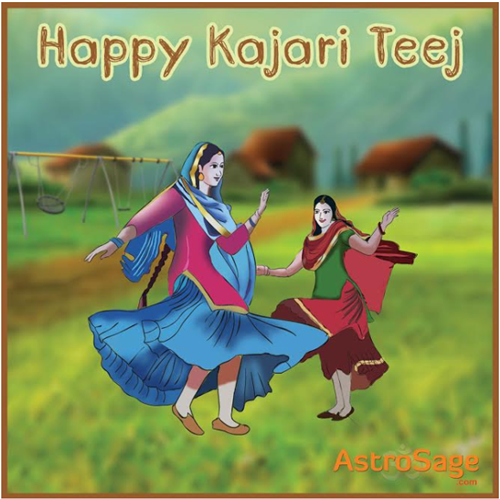 Kajari Teej is the day to celebrate womanhood and the nuptial bond.