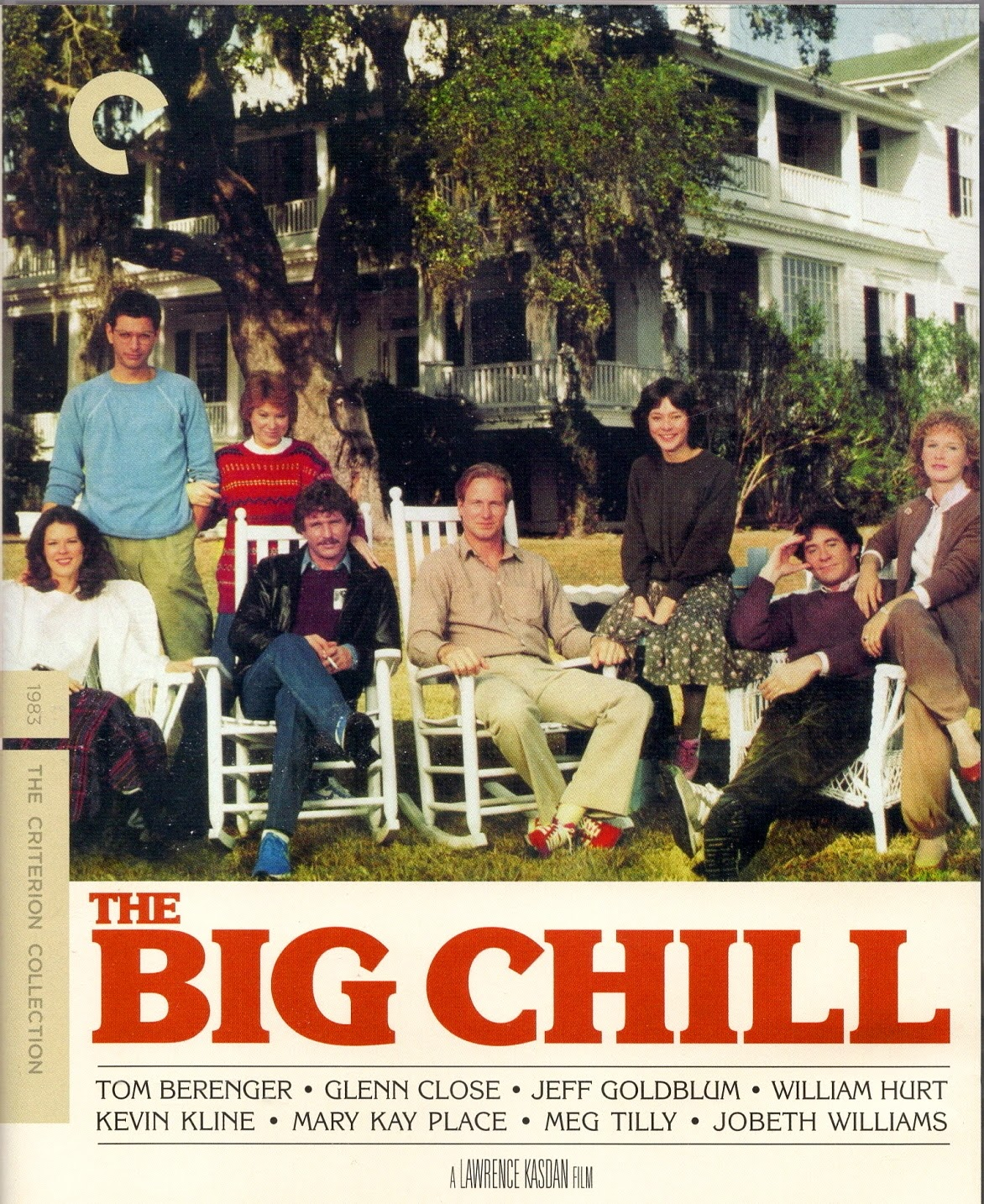 THE BIG CHILL: Blu-ray (Columbia 1983) Criterion Home ...