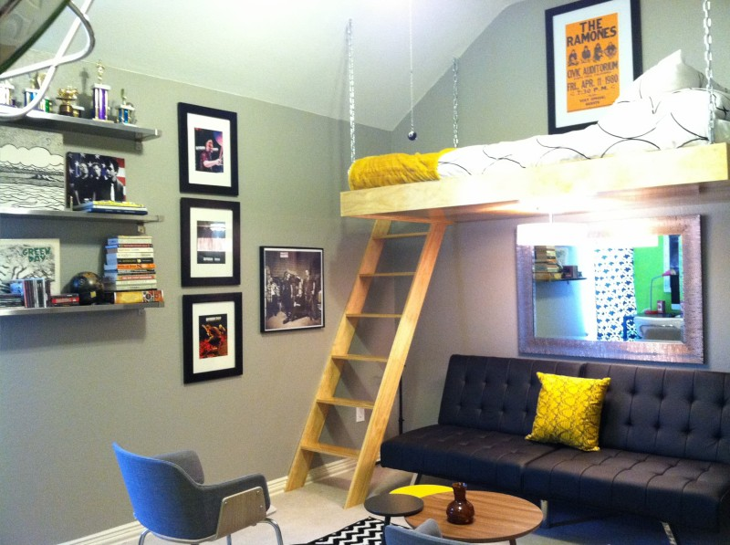 Dallas interior designer plano upstairs makeover for the - Kids game room ideas ...