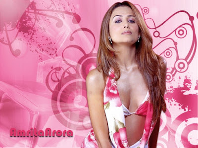 HOT  Amrita Arora wallpapers and pictures.