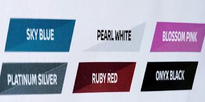 Gambar Jenis Warna Mobil Nissan March