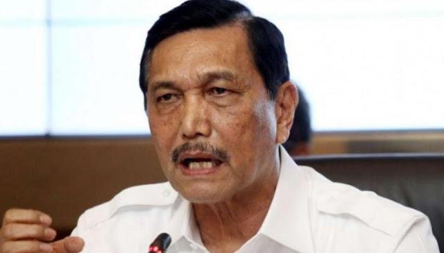 Luhut ogah Tanggapi Pidato Politik Prabowo