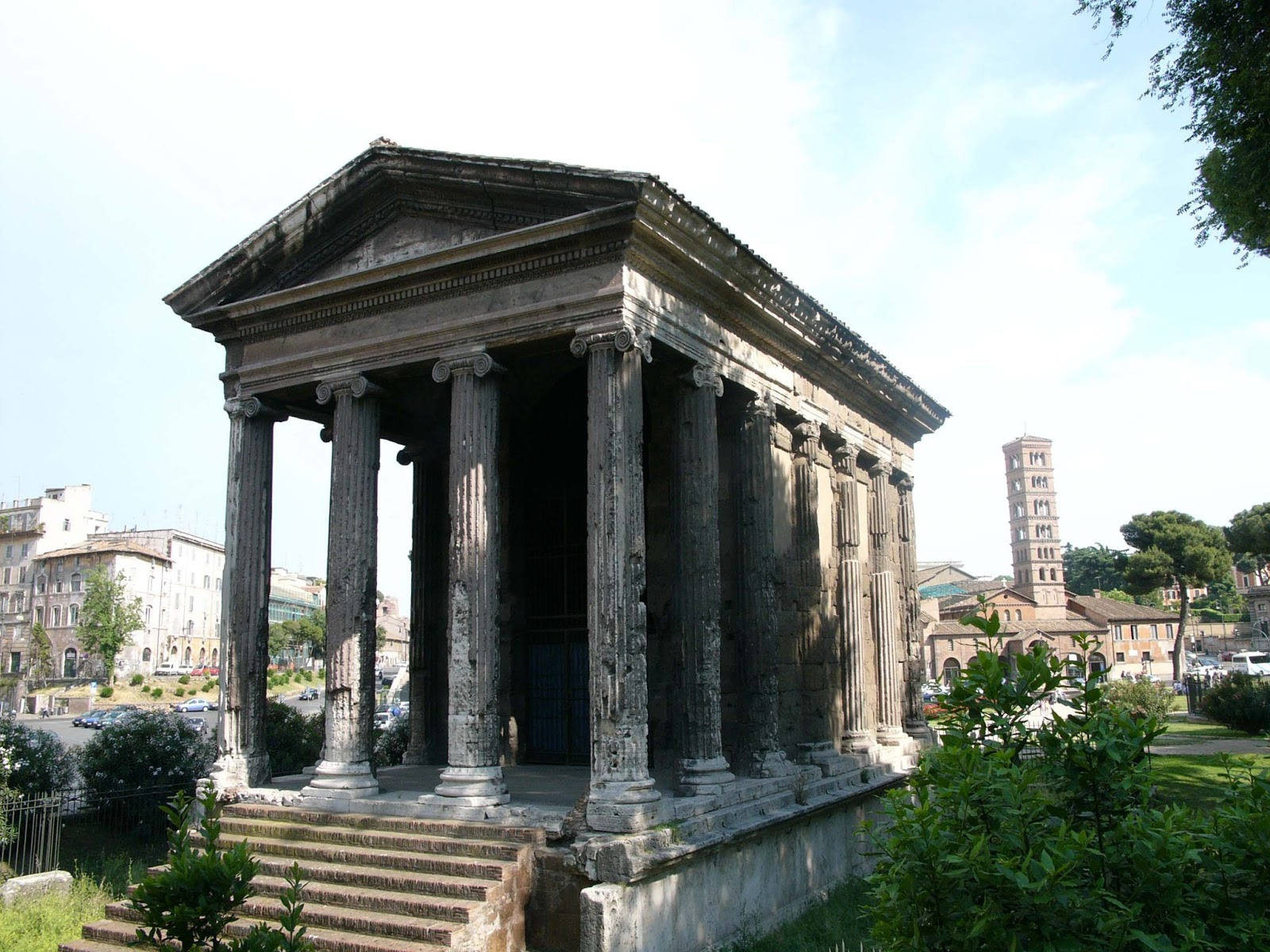 Small House Tour Gjcl Classical Art History Temple Of Portunus