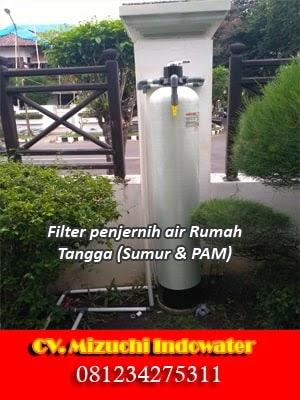Jual Filter penjernih air sumur bor