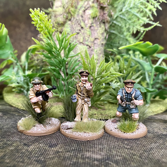 28mm Bolt Action WW2 Tropical British Miniatures for 14th Army and East Africa Campaign