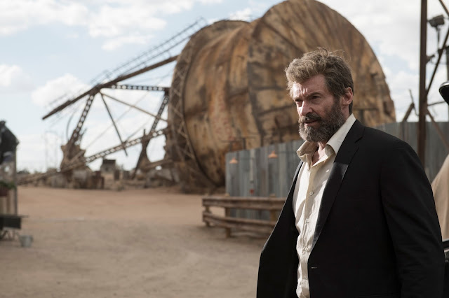 Hugh Jackman as Logan in Logan