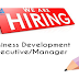 Walk in interview for the Business Development Executive