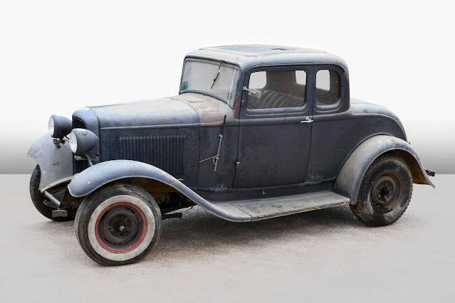 1932 Ford Coupe Barn Find