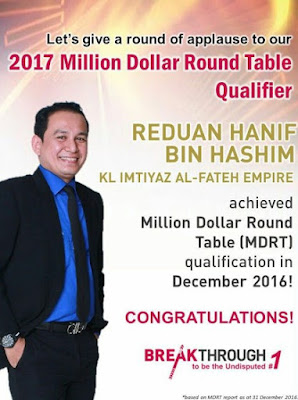 AIA Million Dollar Round Table Qualifier 2017