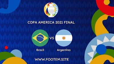 Argentina vs Brazil copa america final
