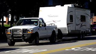 camper, trailer, camping, race weekend