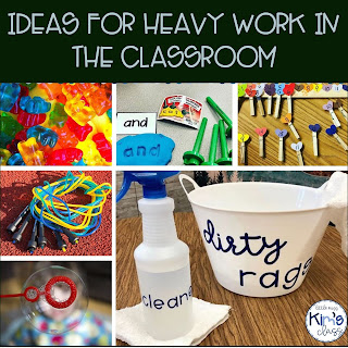 Ideas for Heavy Work in Special Education