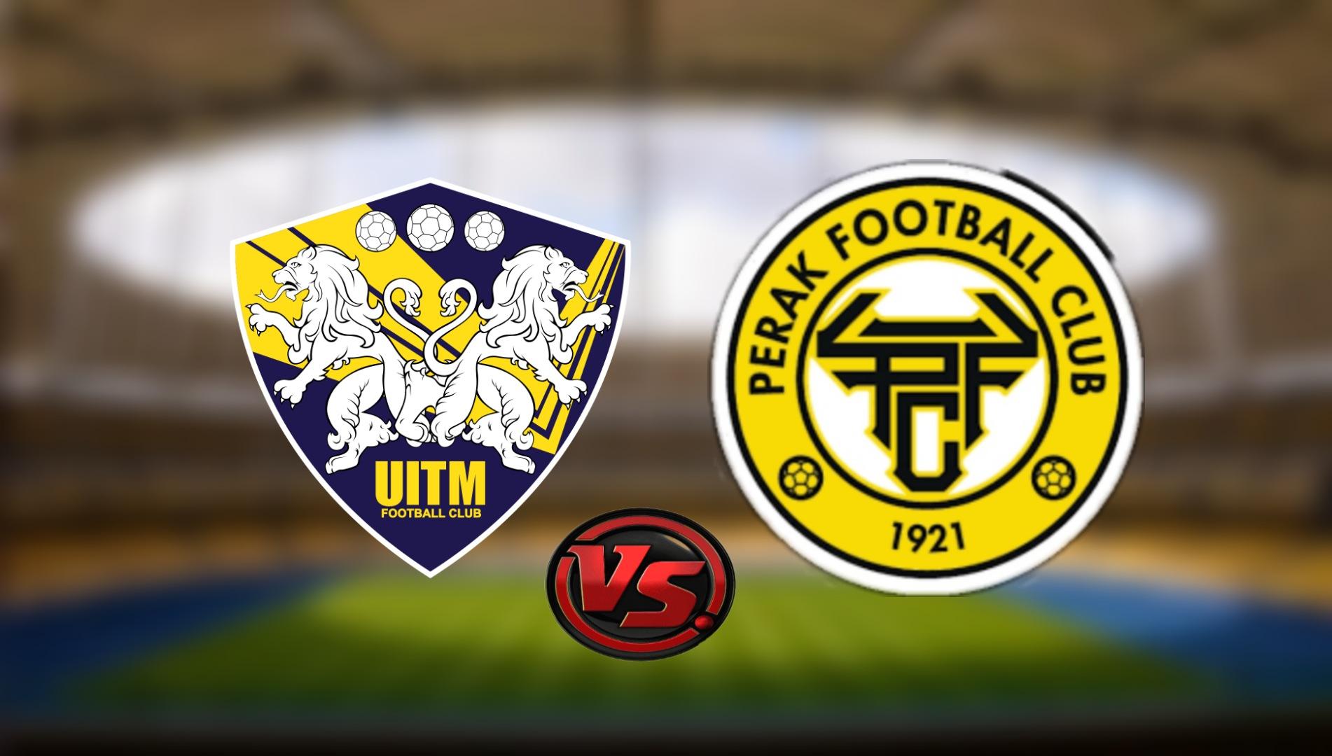 Live Streaming UITM FC vs Perak FC Liga Super 7.8.2021