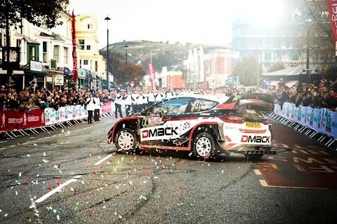 WRC Takes to the Streets of Llandudno