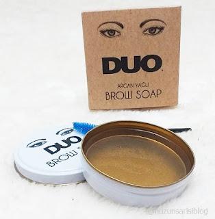 Duo Argan Yağlı Kaş Sabitleyici Sabun