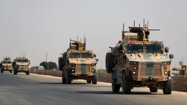 Siria acusa a Turquía e Israel de coordinar apoyo a terroristas