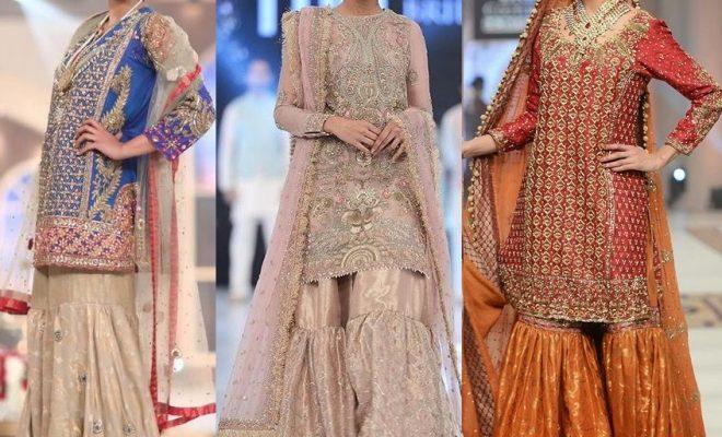 Sharara Dresses For Wedding and Mehndi
