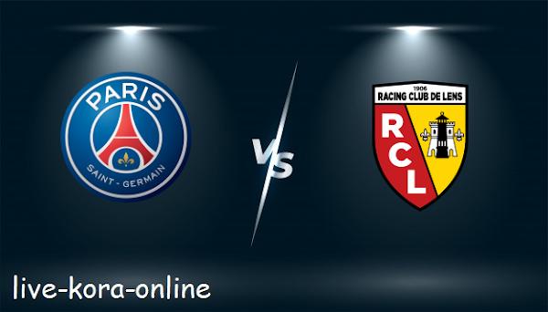 نتيجة مباراة باريس سان جيرمان ولانس اليوم بتاريخ 01-05-2021 في الدوري الفرنسي