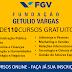 A Fundação Getulio Vargas está oferecendo mais de 110 cursos gratuitos
