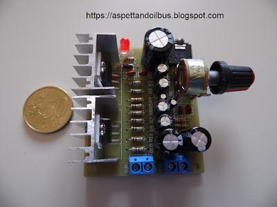 Fig. 14 - Il circuito montato - foto di Paolo Luongo