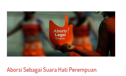 Aborsi Sebagai Suara Hati Perempuan
