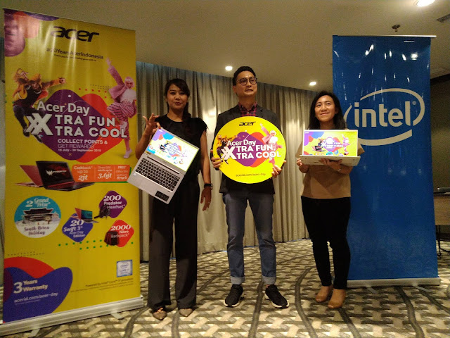 "Acer Day ""Xtra Fun Xtra Cool"" : Persembahan Untuk Pelanggan Setia"
