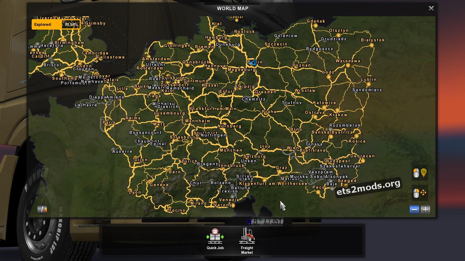 MHAPro Map EU