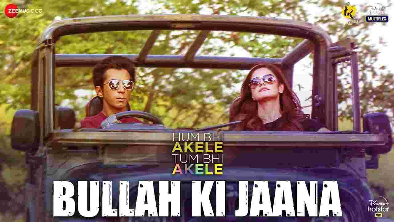 Bullah ki jaana lyrics Hum bhi akele tum bhi akele Adil Rasheed Hindi Bollywood Song