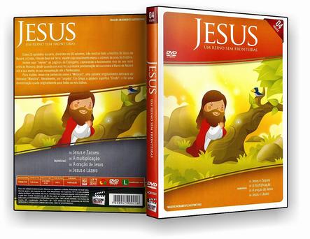 DVD Jesus Um Reino Sem Fronteira 04 - ISO