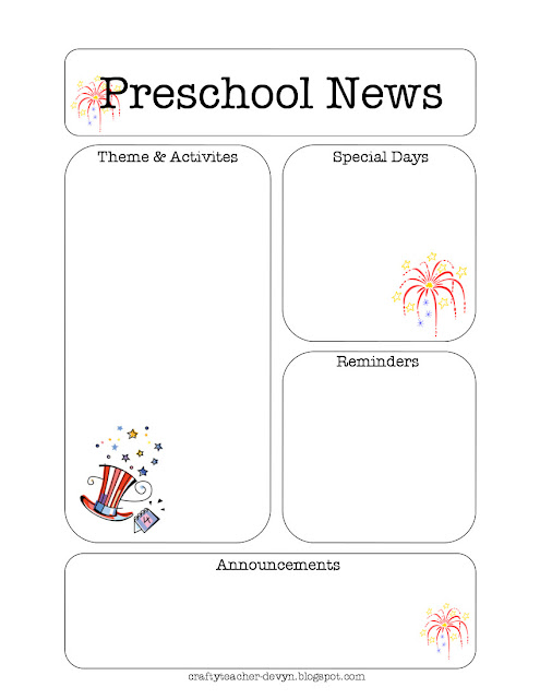 julynewsletter October Newsletter Template Printable on employee free word, free downloadable preschool, printable downloadable, lds relief society,